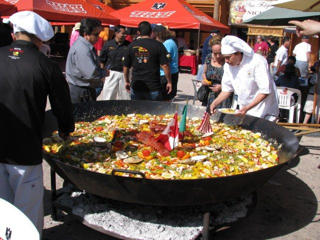Paella Festival at the El Cortez Hotel in San Felipe