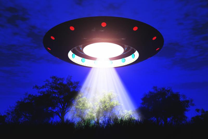 UFO contact in the desert 2015